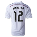 Real Madrid 14/15 MARCELO Home Soccer Jersey