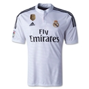 Real Madrid 14/15 Home Soccer Jersey w/ Club World Cup Badge