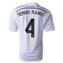 Real Madrid 14/15 SERGIO RAMOS Home Soccer Jersey