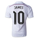 Real Madrid 14/15 JAMES Authentic Home Soccer Jersey