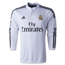 Real Madrid 14/15 LS Home Soccer Jersey