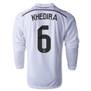 Real Madrid 14/15 KHEDIRA LS Home Soccer Jersey