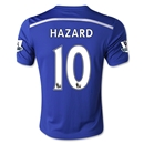 Chelsea 14/15 10 HAZARD Youth Home Soccer Jersey