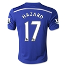 Chelsea 14/15 HAZARD Youth Home Soccer Jersey