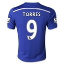 Chelsea 14/15 TORRES Youth Home Soccer Jersey