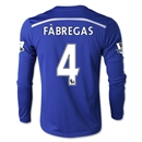 Chelsea 14/15 FABREGAS Youth LS Home Soccer Jersey