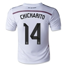 Real Madrid 14/15 CHICHARITO Youth Home Soccer Jersey