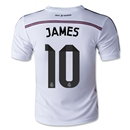 Real Madrid 14/15 JAMES Youth Home Soccer Jersey