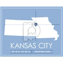 Sporting Kansas City Map Wall Art