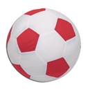 Autograph Soccer Ball Pillow (Red)