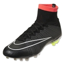 Nike Mercurial Superfly AG (Black/White/Hyper Punch)