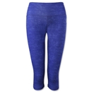 adidas Performer Mid-Rise Static Print 3/4 Tight (Purple)