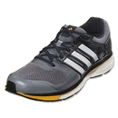 adidas Supernova Glide 6 Running Shoe (Tech Grey/Running White/Neon Orange)