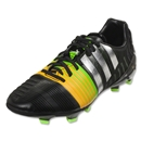 adidas Nitrocharge 2.0 FG (Black/Metallic Silver/Neon Orange)