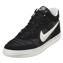 Nike NSW Tiempo Trainer Leisure Shoe (Black/Med Gum Brown/Ivory)