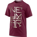 Nike Neymar Logo TD Youth T-Shirt (Red)