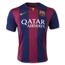 Barcelona 14/15 Home Soccer Jersey