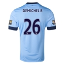 Manchester City 14/15 DEMICHELIS Authentic Home Soccer Jersey