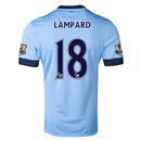 Manchester City 14/15 LAMPARD Authentic Home Soccer Jersey
