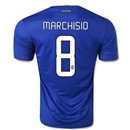Juventus 14/15 MARCHISIO Away Soccer Jersey