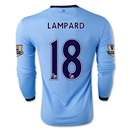 Manchester City 14/15 LAMPARD LS Home Soccer Jersey