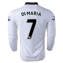 Manchester United 14/15 DI MARIA LS Away Soccer Jersey