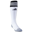 adidas Copa Zone Cushion II Irregular Sock 3 Pack (Wh/Bk)