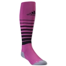 adidas Team Speed Soccer Sock Irregular 3 Pack (Pi/Bk)