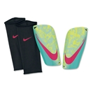 Nike Mercurial Lite Shinguard (Volt/Retro/Laser Crimson/Black)
