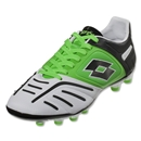 Lotto Stadio Potenza IV 200 FG (White/Fluo Mint/Black)