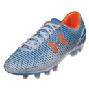 Under Armour Women's Speed Force FG (Electric Blue/White/Citrus)