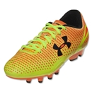 Under Armour Speed Force FG Junior (Blaze Orange/High-Vis Yellow/Black)