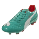 Puma evoPOWER 3 FG (Pool Green/White/Grenadine/Turbulence)