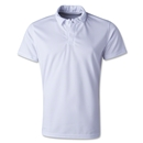 Flag Soccer Polo (White)