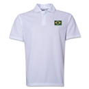 Brazil Flag Soccer Polo (White)