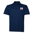 England Flag Soccer Polo (Navy)