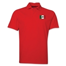 Mexico Flag Soccer Polo (Red)