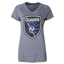 San Jose Earthquakes Women's Originals Fan V-Neck T-Shirt