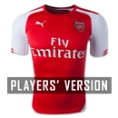 Arsenal 14/15 Authentic Home Soccer Jersey