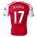 Arsenal 14/15 ALEXIS Home Soccer Jersey