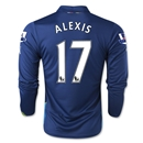 Arsenal 14/15 LS ALEXIS Cup Soccer Jersey
