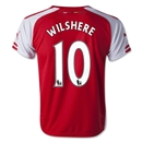 Arsenal 14/15 WILSHERE Youth Home Soccer Jersey