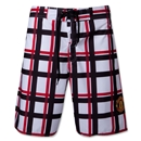 Manchester United Plaid Board Shorts