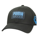 PUMA Striker Stretch Fit Cap (Black/Sky)