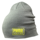 PUMA Striker Beanie (Gray/Green)
