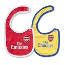 Arsenal Baby 2 Pack Bibs