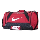 Nike Brasilia 6 Medium Duffle Bag (Red)