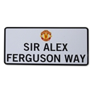 Manchester United Sir Alex Ferguson Way Sign