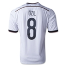 Germany 2014 Mesut Ozil Home Soccer Jersey