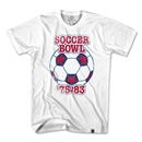 Soccer Bowl North American Soccer T-Shirt (White)